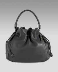 Cole Haan | Black Denney Drawstring Bag | Lyst