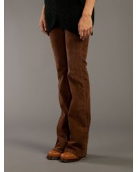 Current/Elliott | Brown The Cowboy Cord Jean | Lyst