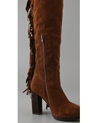 Jeffrey Campbell | Brown Houston Fringe Boots | Lyst