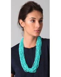 Kenneth Jay Lane | Blue Turquoise Necklace | Lyst