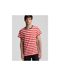 Marc By Marc Jacobs | Red Oscar Stripe Tee for Men | Lyst