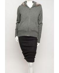 Mus - Gray Alabaster Hooded Sweatshirt - Lyst
