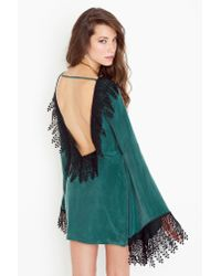 Nasty Gal | Roosevelt Dress - Hunter Green | Lyst