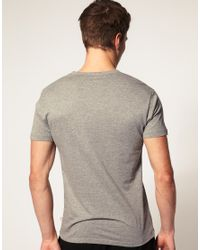 PUMA | Gray 2 Pack V Neck T Shirts for Men | Lyst