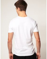 PUMA | White 2 Pack Crew Neck T Shirts for Men | Lyst