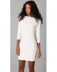 Rachel Roy - Natural Textured Sheath Dress - Lyst