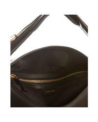 Tom Ford | Black Leather Zipper Strap Hobo | Lyst