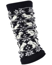 TOPSHOP | Blue Navy Squirrel Legwarmers | Lyst