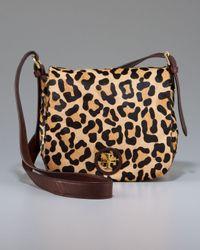 Tory Burch | Natural Leopard City Mini Bag | Lyst