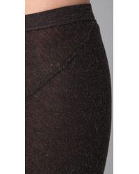 Enza Costa - Brown Twist Maxi Skirt - Lyst