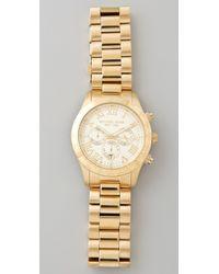 Michael Kors - Metallic Layton Chronograph Watch - Lyst