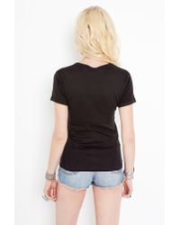 Nasty Gal | Black Nobody Rides For Free Tee | Lyst