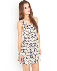 Nasty Gal - Multicolor Daisy Chain Cutout Dress - Lyst