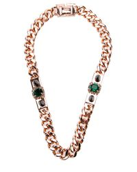 Mawi | Metallic Gold Chain Necklace | Lyst
