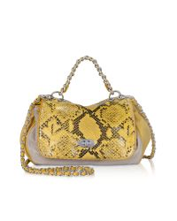 Elie Tahari | Multicolor Tammie Mid Leather Shoulder Bag | Lyst