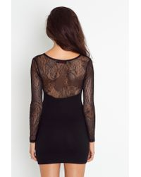 Nasty Gal | Black Elsa Lace Dress | Lyst