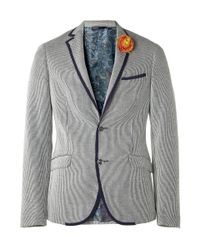 Etro   Blue Down Jacket for Men   Lyst
