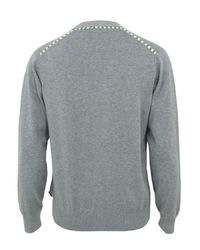 Paul Smith | Gray 715k-770z Marl Grey Cardigan for Men | Lyst