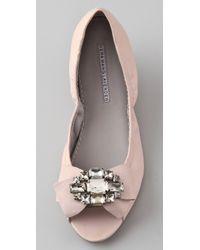 Vera Wang Lavender | Pink Lucie Ballet Flats | Lyst