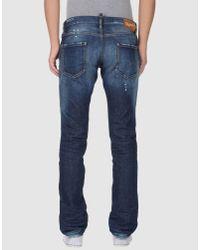 DSquared² - Blue Dsquared2 - Denim Pants for Men - Lyst