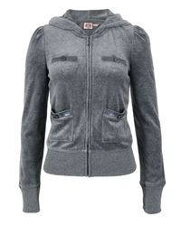 Juicy Couture | Gray Heather Prestige Sweat | Lyst