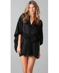 Kiki de Montparnasse | Black Kimono Robe | Lyst
