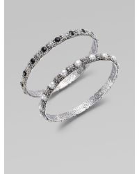 Konstantino - Metallic Black Onyx & Sterling Silver Bracelet - Lyst