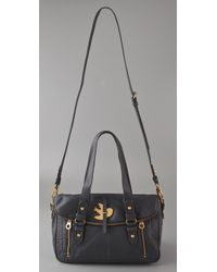 Marc By Marc Jacobs - Gray Petal To The Metal Voyage Satchel - Lyst
