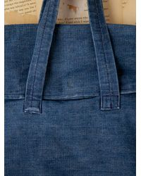 Free People | Blue Vintage Denim Handbag | Lyst