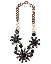 Mango | Black Touch - Oversize Necklace | Lyst