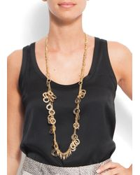 Mango - Metallic Touch - Necklace Rings - Lyst