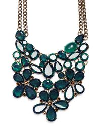 Mango | Green Stone Necklace | Lyst