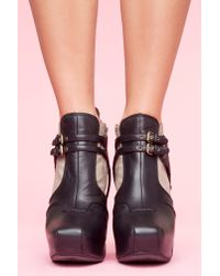 Nasty Gal | Sam Edelman Zoe Boot - Gray | Lyst