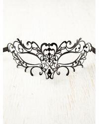 Free People - Black Tattoo Italian Mask - Lyst