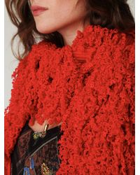 Free People - Red Ihamana Scarf - Lyst