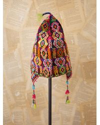 Free People | Multicolor Vintage Bolivian Knit Hat | Lyst