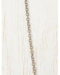 Free People - Metallic Squash Blossom Pendant - Lyst
