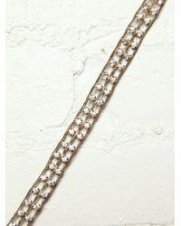 Free People - Metallic Vintage Jeweled Choker - Lyst