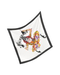 Givenchy | Multicolor Joker Design Silk Square Scarf | Lyst
