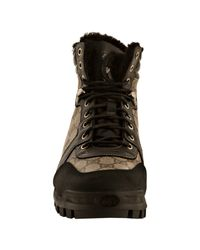 Gucci - Brown Beige Gg Plus Fur Lined Boots for Men - Lyst