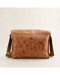 J.Crew | Brown Belstaff® Leather Messenger Bag for Men | Lyst