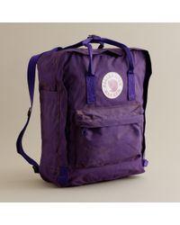 J.Crew | Purple Fjällräven® Classic Kanken Backpack for Men | Lyst