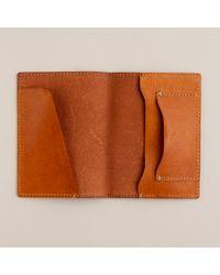 J.Crew | Brown Cognac Leather Passport Holder for Men | Lyst
