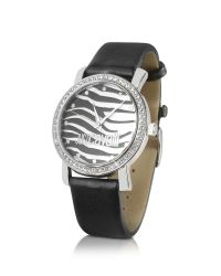 Just Cavalli | Black Moon - Zebra Dial Signature Dress Watch | Lyst