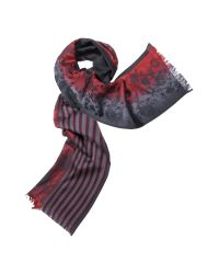 KENZO | Multicolor Floral Jacquard Wool Scarf | Lyst