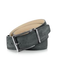 Moreschi | Stiria - Dark Gray Leather Belt for Men | Lyst