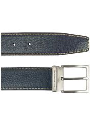 Moreschi | Var - Navy Blue Grain Calf Leather Belt for Men | Lyst