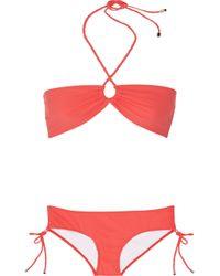 Shimmi   Orange Stella Bandeau Bikini   Lyst