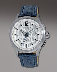 Breil | Blue 939 Chronograph Watch, Silvertone for Men | Lyst