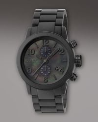 Brera Orologi | Black Ceramic Round Watch | Lyst